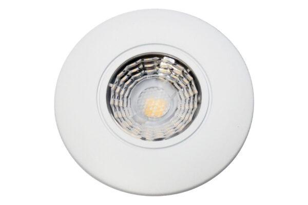 Easy 2-Place LED Ø70 Mat Hvid
